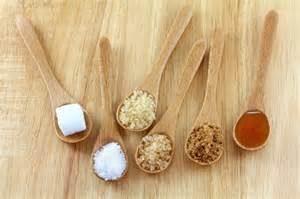 Azúcares, distintos tipos.