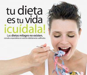 Tu dieta es tu vida ¡Cúidala!
